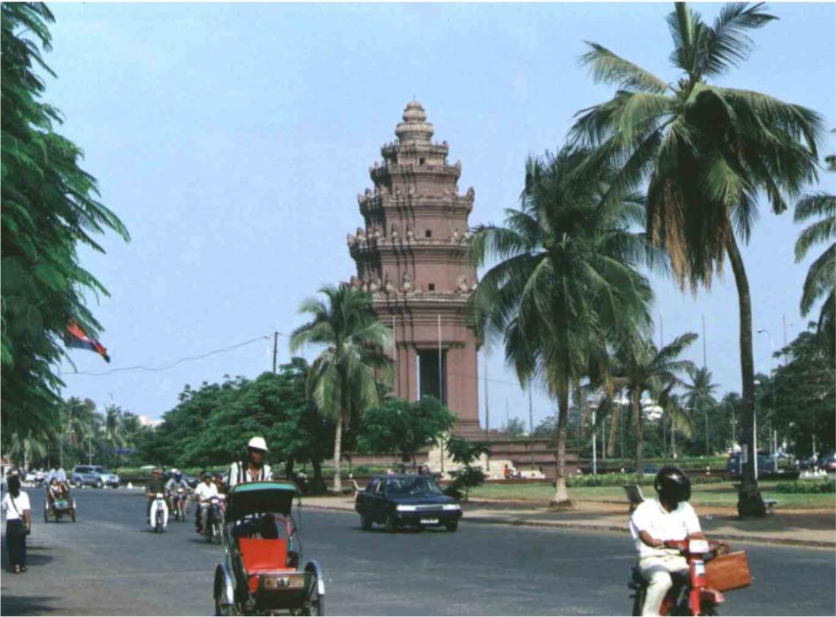 Пномпень, Камбоджия